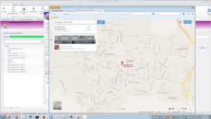 Securithor jumps to Google Maps to show position